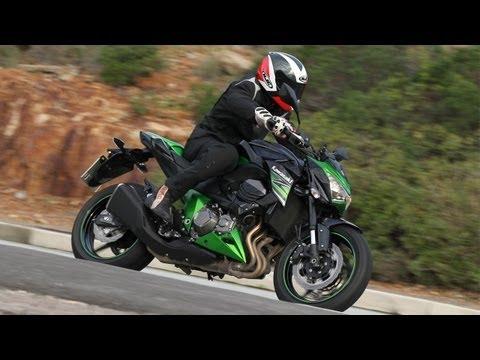 Kawasaki Z800 2013 - Testfahrt Cote d' Azur