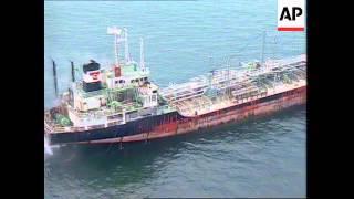 Malaysia: Straits Of Malacca: Tanker Collision