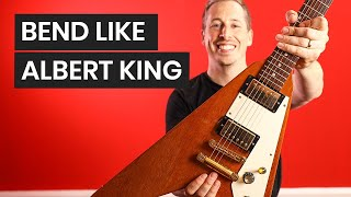 Albert King Guitar Technique - How To Manipulate Pentatonic Notes