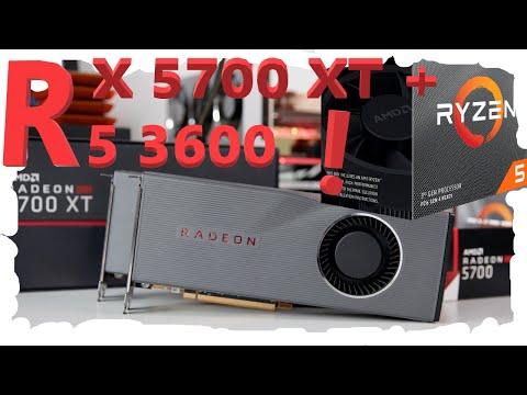 Ryzen 5 3600 + RX 5700 XT test in 10 modern games!
