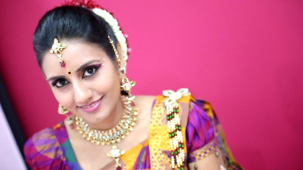 Malaysian Indian Wedding Nanthini Thilagaraj By Golden Dreams. Indian Bridal Makeup Services