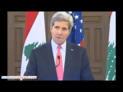 In Beirut, John Kerry claims that political solution is only way to resolve Syrian conflict