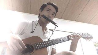 Beautiful In White harmonica and guitar