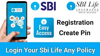 SBI Life Easy Access App | How to Use SBI Life Easy Access App screenshot 1