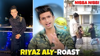 RIYAZ ALY ROAST !! This is Worse than Instagram Reels and Tiktok | ft @CarryMinati