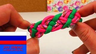 Паракордовый браслет из трех шнуров видеоурок
