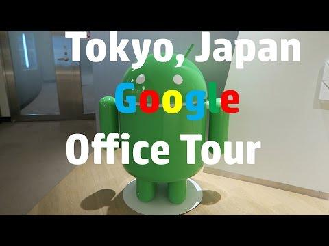 Tokyo, Japan Google Office Tour