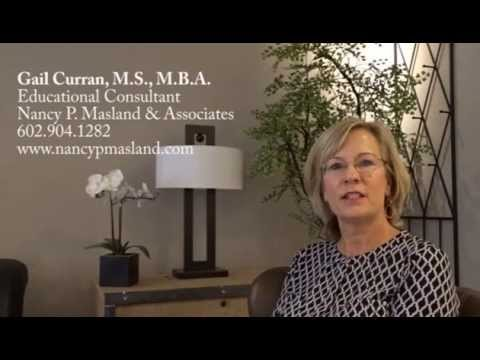 Gail Curran, M.S., M.B.A. Educational Consultant