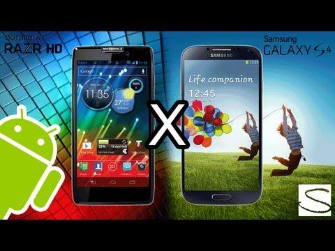 Samsung Galaxy S4 VS Motorola Razr HD
