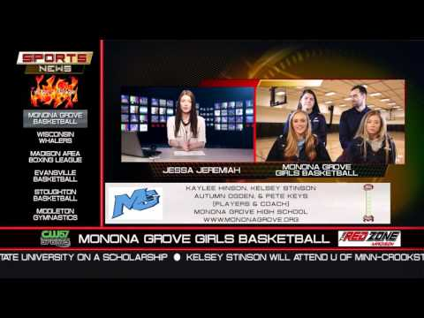 The Sports News | Monona Grove Girls Basketball | 12/7/15