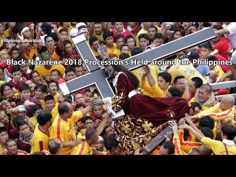 Black Nazarene 2018 Procession's Held around the Philippines