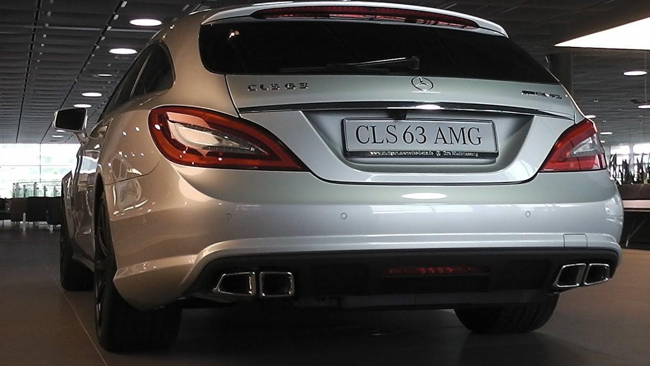 3x Mercedes CLS 63 AMG S Shooting Brake SOUND Look Around