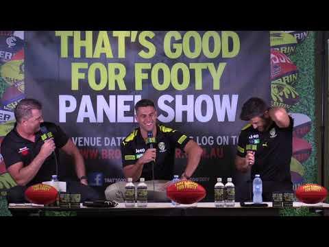 "Footy show ""That's Good for Footy"" presents Richmond 2018 Preseason show Feb 9th"