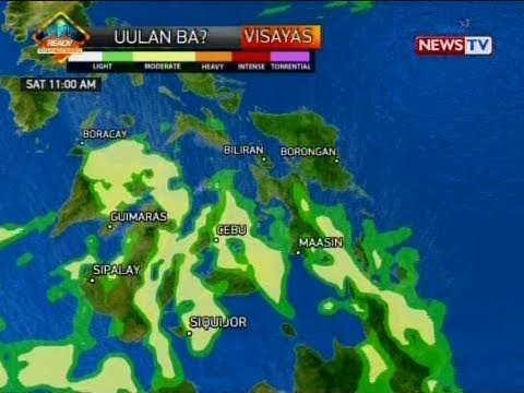 NTVL: Weather update as of 9:53 a.m. (January 20, 2018)