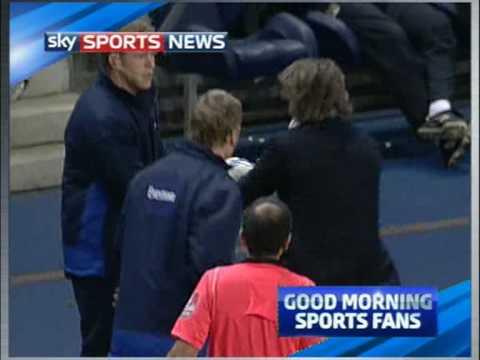 David Moyes vs Roberto Mancini 25.03.10