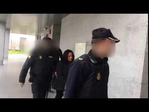 Pasan a disposición judicial en Vilagarcía los ocho detenidos por el alijo de Ourense
