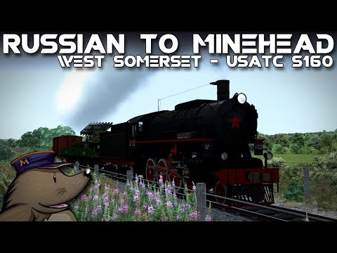 TS2018 | Russian to Minehead | West Somerset Railway | USATC S160