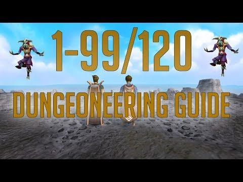Runescape 3 - 1-99/120 Dungeoneering Guide 2019