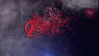 After effects : Particles logo and text animation