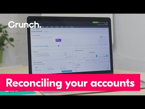 Bank Reconciliation | Crunch help video