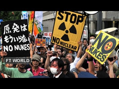 Anti-nuclear sentiment grows in Japan