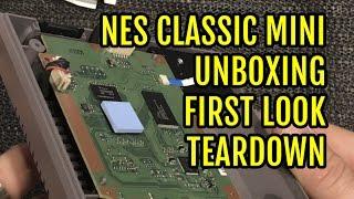 NES Classic Mini Unboxing First Look & Teardown - YouTube