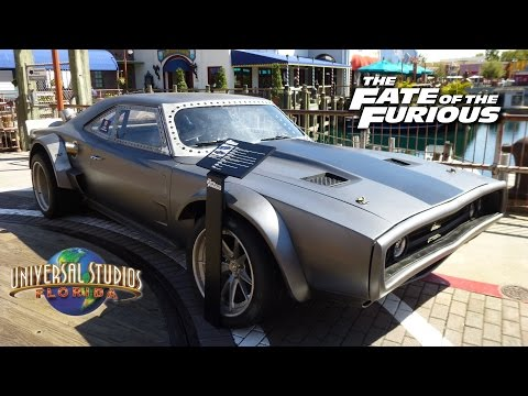 Fate of the Furious Screen-Used Cars on Display at Universal Studios Florida