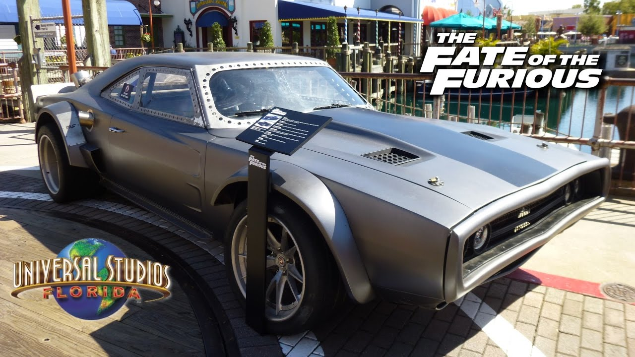 Fate of the Furious Screen-Used Cars on Display at Universal ...
