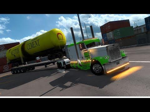 TrainTanker | Oakland To Bakersfield | American Truck Simulator