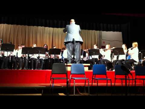 HMS 6th Grade Band 12-15-2010- A Christmas Sleigh Ride