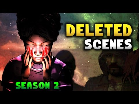 The WALKING DEAD | Deleted Scenes, Choices & Audio Files From Season 2 [Telltale]