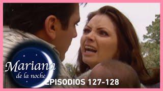 Mariana de la noche: ¡Ignacio expone su vida para salvar a su hijo! | Escena C127-128