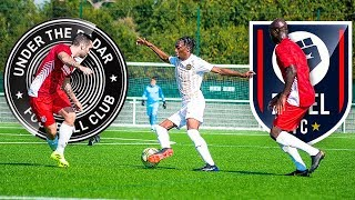 UNDER THE RADAR VS REBEL FC! YOUTUBE BATTLE!