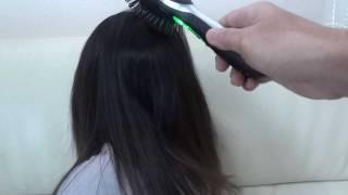 ガスファンヒーターで髪の毛を乾かしている子供のために購入♪静電気が発...