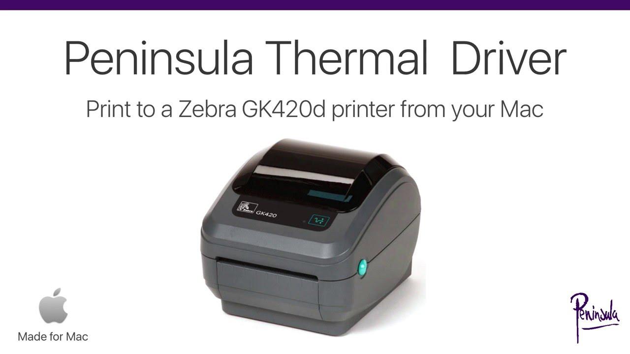 Zebra GK420d Printer Driver For Mac - Use Your Zebra Printer on Mac OS