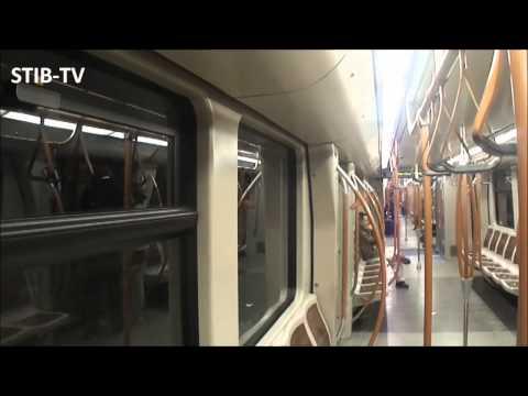 Brussels Metro : Ligne 1 limitée à Schuman (retour Dépôt)