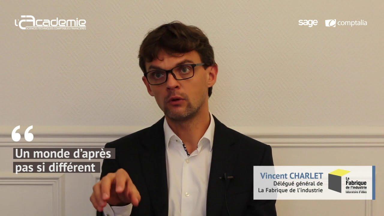 Entretiens de l'Académie : Vincent Charlet