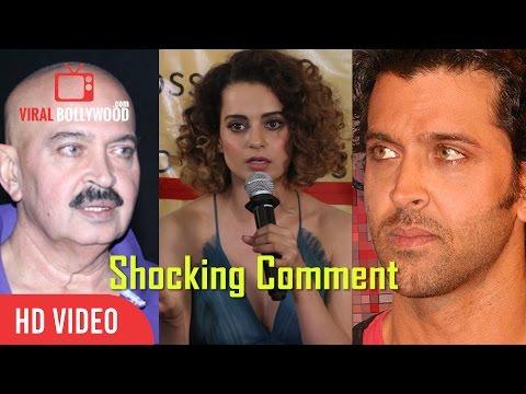 Kangana Ranaut Angry Comment on Hrithik & Rakesh Roshan | Angry Kangana | Controversy