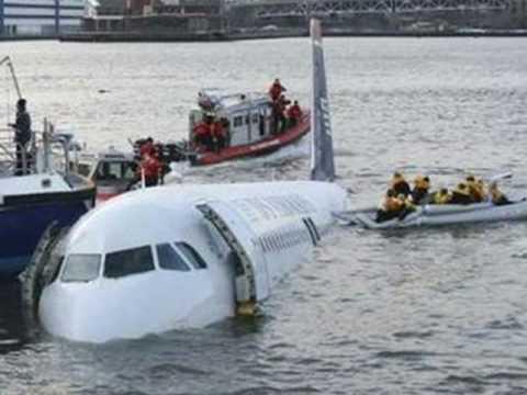 US Airways plane crash on the Hudson River