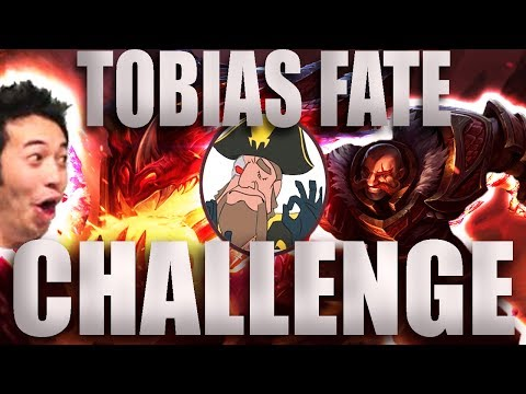 Tobias Fate - The 30 Day Without Flaming/inting CHALLENGE! Tobias in love | League of Legends