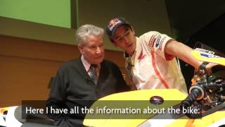 Una bella sorpresa per Marc Marquez -- Video