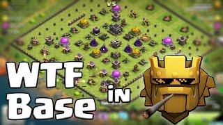 [Clash of Clans ] DEUTSCH || WTF BASE in TITAN 1