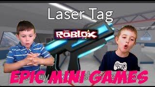 Roblox-lazer tag-mini jogos Epic