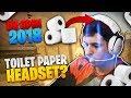 TOILET PAPER HEADSET?! (CS:GO Funny Moments)