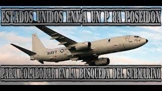 EEUU envía un P 8A Poseidon para colaborar en la búsqueda del submarino San Juan