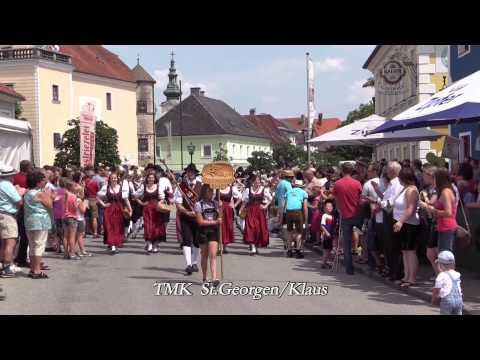 St. Peter in der Au  Festzug  2015 (MV St. Peter inder Au)