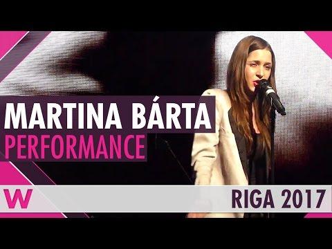"Martina Bárta ""My Turn"" (Czech Republic 2017) LIVE @ Eurovision Pre-Party Riga 2017"