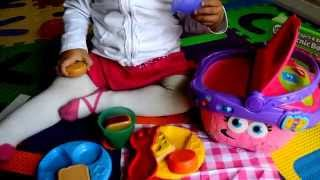 LeapFrog Shapes and Sharing PICNIC BASKET Unboxing/Playing by KidzToyz NZ