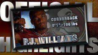 2014 Official Highlights | FSU CB P.J. Williams