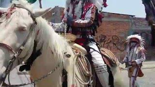 Danza de Apaches y Soldados Linces de Queretaro